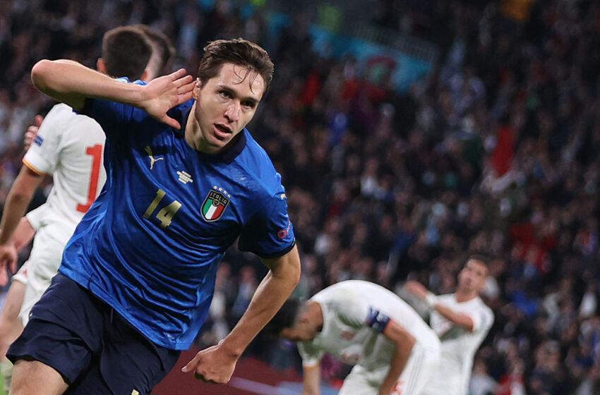 Federico Chiesa Strike Helps Italy Reach Euro 2020 Final